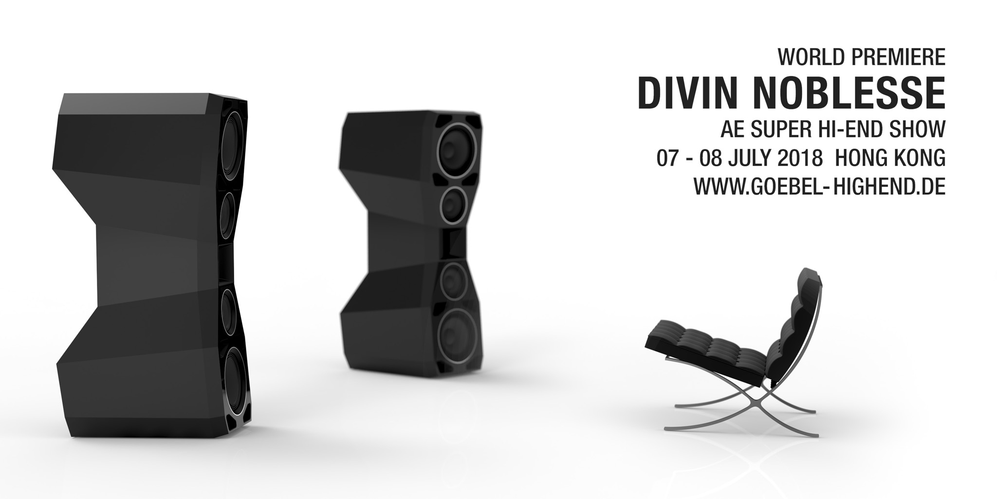 Ultra High End Speaker Divin Noblesse